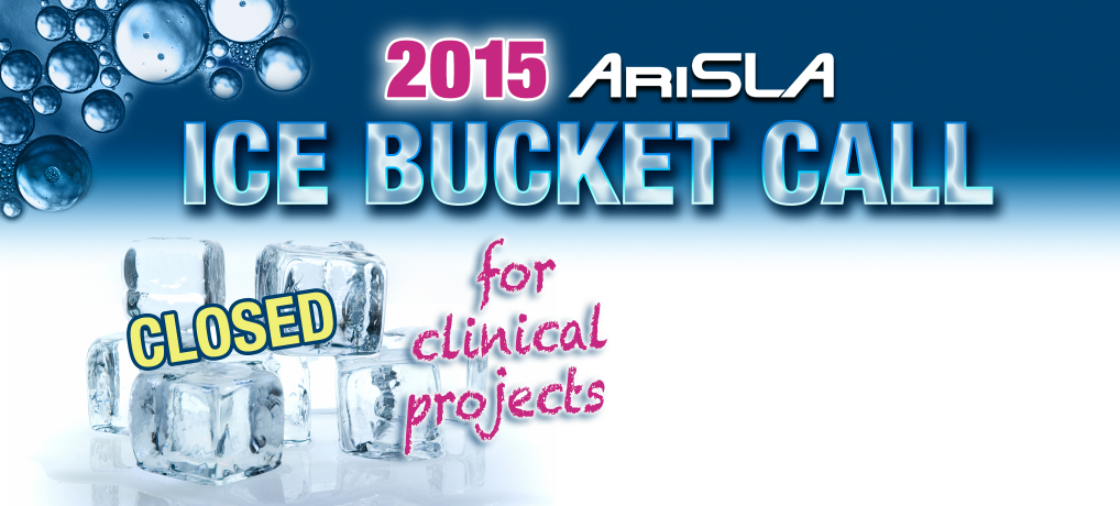"""""""ICE BUCKET CALL FOR CLINICAL PROJECTS"""""""